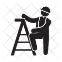 Labor Stair Ladder Icon