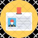 Labor Card Identity Icon