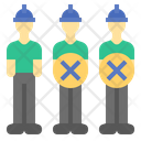 Labor Cost Reduction Labour Layoff Icon