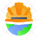 Labor Day World Helmet Icon