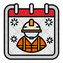 Labor Day Calendar Icon