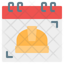 Labor Day Labour Time And Date Icon