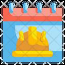 Labor Day Calendar Labor Icon