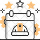 Labor Day Calendar Event Icon