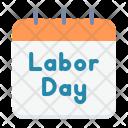Day Calendar Worker Icon