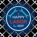 Labor Day Badge Labor Day Logo Labor Day Label Icon
