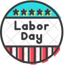 Day Badge May Icon