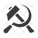 Worker May Sickle Icon