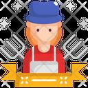 M Labor Woman Icon