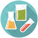Laboratory Testtube Flask Icon