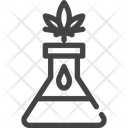 Marijuana Cannabis Laboratory Icon