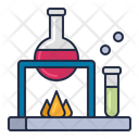 Laboratory Experiment Science Icon
