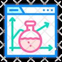 Laboratory Seo Optimization Icon
