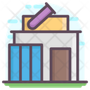 Laboratory Building Icon