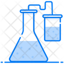 Laboratory Chemical Conical Flask Flask Icon