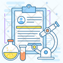 Laboratory Diagnosis Icon