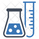 Laboratory Tube Experiment Icon