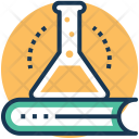 Science Book And Icon