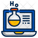 Laboratory Online Online Learning Training Icon