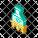 Laboratory Production Bio Icon