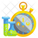 Laboratory Research Time Icon