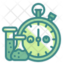 Laboratory Research Time Stopwatch Time Icon