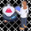 Laboratory Scale Icon