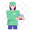 Lab Technician Sample Testing Lab Assistant Icon