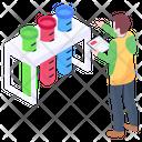 Laboratory Test Tubes Icon