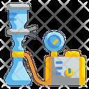 Laboratory Vacuum Pump Icon