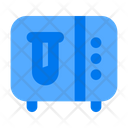 Laboratory Vault Test Tube Experiment Icon