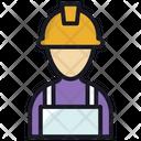 Carpenter Labour Man Icon