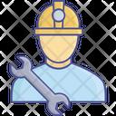Labour Co Worker Labour Union Icon