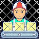 Labourer Worker Workforce Icon