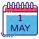 Labour Day Event Calendar Schedule Icon