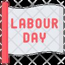 Labour Day Flag Icon