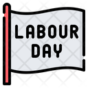 Labour Day Flag Labour Day Flag Icon
