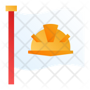 Labor Flag Worker Icon