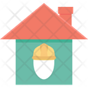 Labour House House Home Icon