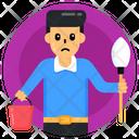 Child Labour Labour Kid Worker Icon