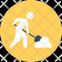 Labourer Worker Miner Icon