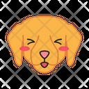 Labrador Dog Smiling Icon
