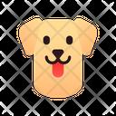 Labrador Retriever Dog Puppy Icon