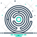 Labyrinth Way Out Puzzel Maze Icon