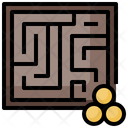 Labyrinth Maze Table Games Icon