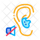 Hearing Lack Deafness Icon