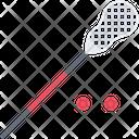 Lacrosse Stick Ball Icon