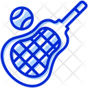 Lacrosse Ball Stick Icon
