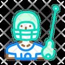 Lacrosse Sport Color Icon