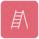 Ladder Stairs Construction Icon